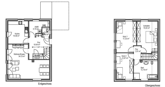 einfamilienh user. Black Bedroom Furniture Sets. Home Design Ideas